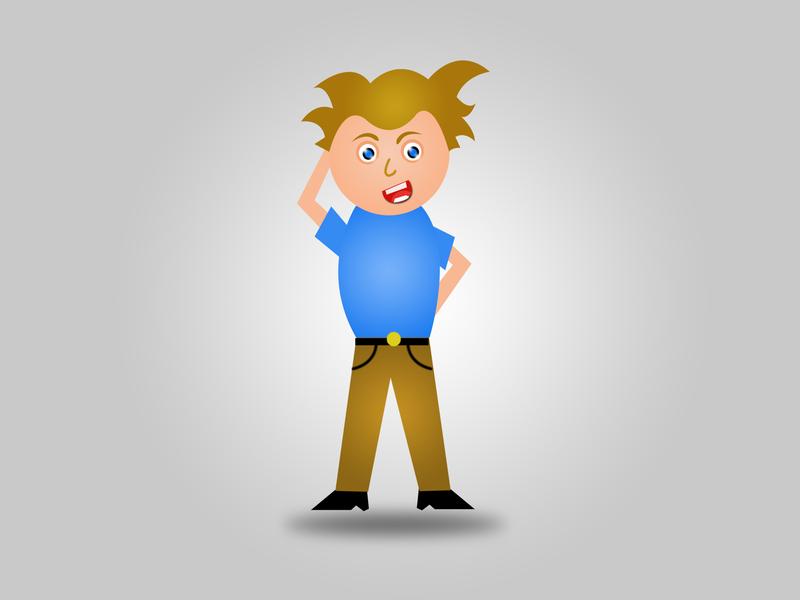 Police (Cartoon Character) animation design illustration