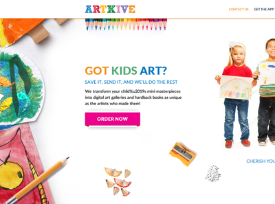 Kid's Art sale