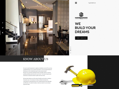Home improvement Website Design required