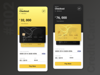 Credit Card - Daily UI Challenge #002