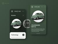 Mobile app for Volkswagen