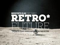 Retro Future Novecento Slab