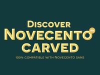 Discover Novecento Carved