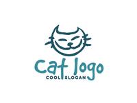 cat logo concept