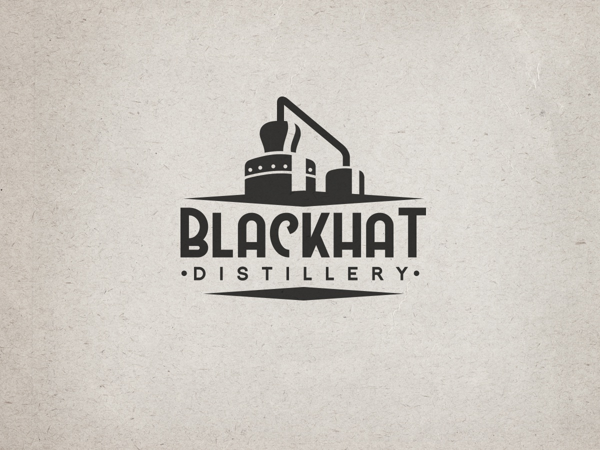 Distillery logo concept awesome cool vintage retro steampunk bar drink alcohol still distillery logo design logo