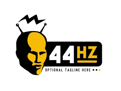 Human head logo concept