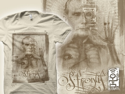 homo aeternus t-shirt design