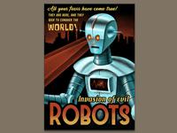 Invasion of evil robots