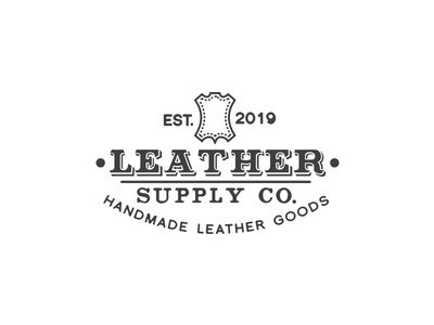 leather logo fashion accessories clothing jackets shoes belts awesome cool stylish classic luxurious branding logo design logo sophisticated hipster vintage retro hide leather