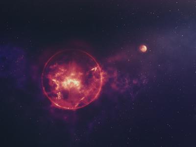 Nebula comp stars galaxy photoshop space