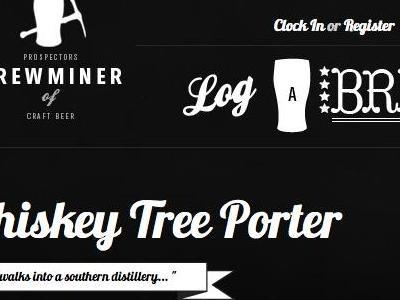 Brewminer beer website