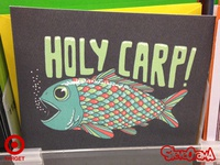 "The ""Holy Carp!"" birthday card"