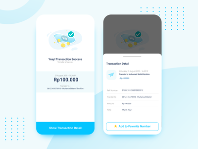 Success Transaction Page for Emoney