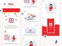 illustration for AlfaStamp Landing Page