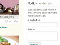 Recipe website