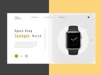 watch shop concept