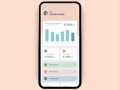 Finance management app