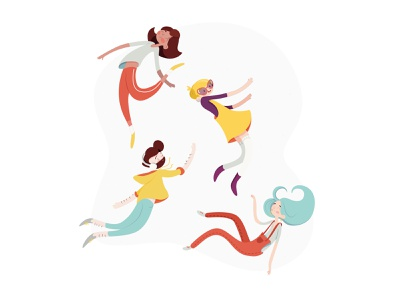 Hello Dribbble website vector flat ui web design illustration