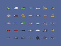 @2x Vehicle icons
