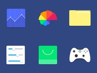 Slick Material Icons
