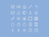 Free Image Editing Icons