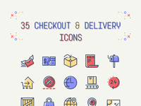 Delivery icons preview