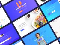 Rainbow UI kit sneak peak