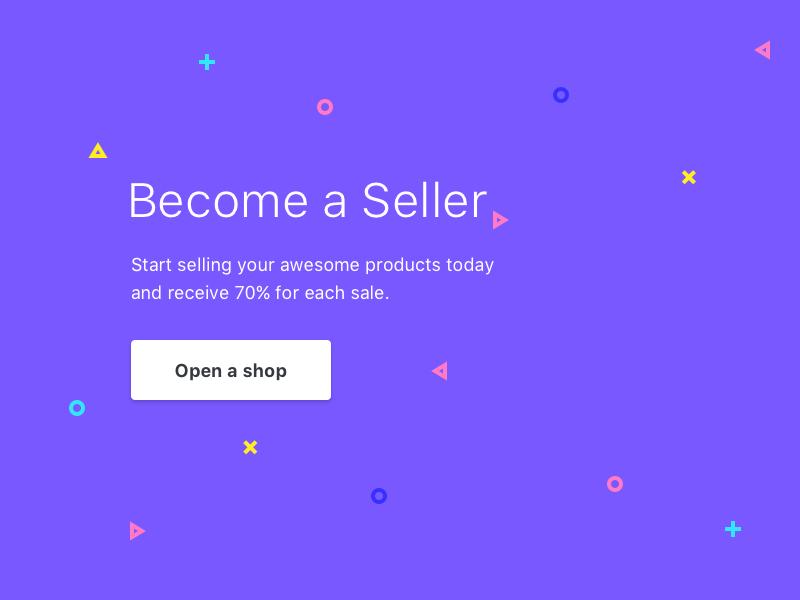 Open an Epicpxls shop icons ui kits kits markets shop