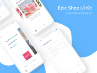 iPhone X Epic Shop UI