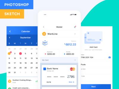 Fintech App (Pocket UI Kit)