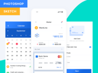 Fintech App (Pocket UI Kit)