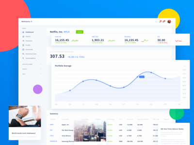 Finance ui for crypto