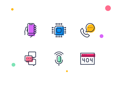 Icons with shadows sample free download phone processor chat conversation calendar mic pixicons icons shadows