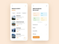 Backpacker - Travel App Concept II
