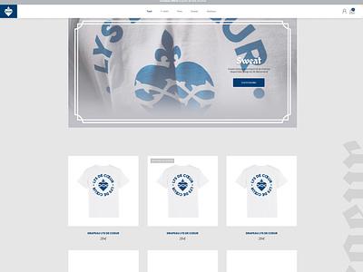 Lys de Coeur website france avemaria jesus catholic ecommerce webdesign branding