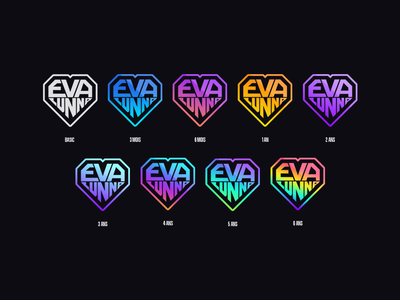 Twitch subscriber badges evalunna gaming overlay badge twitch