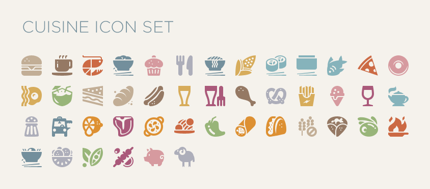Dribbble food cuisine icon by evernote design for Conception cuisine android