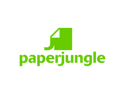 PaperJungle brand davebastian logo mark vector
