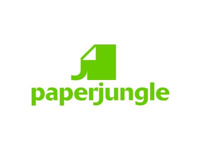 PaperJungle brand davebastian logo mark vector
