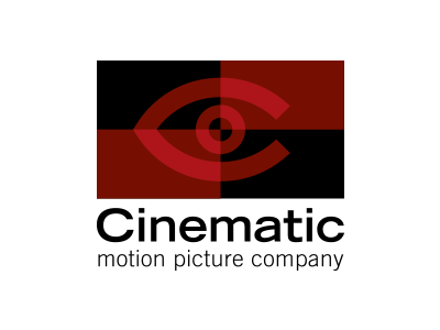 Cinematic brand davebastian logo mark vector