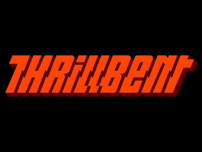 Thrillbent brand davebastian logo vector type
