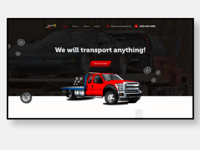 Holmes Transport, LLC design web ux website design ui