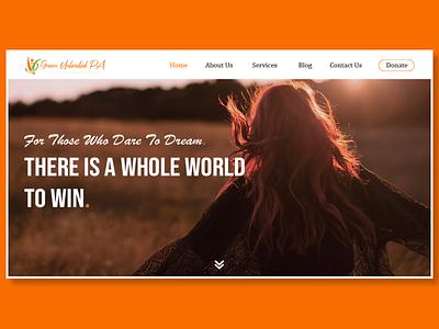 The Green Unlimited PA business web ux webservices domain platform blog life coach selfcare website design ui
