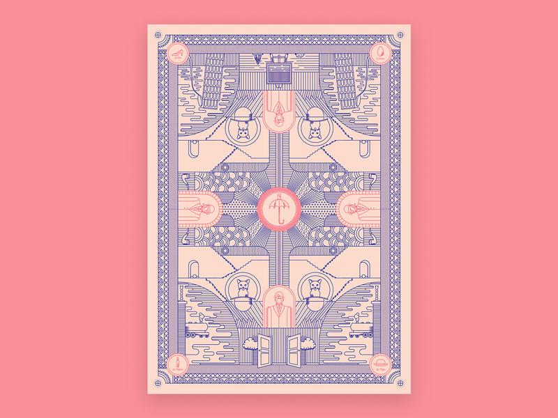Bamboozled flat vector illustration design