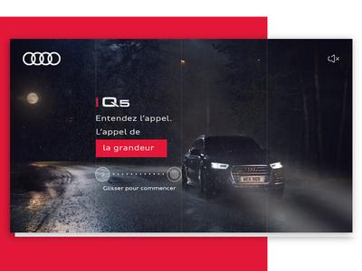 Audi Q5 - Rich Media