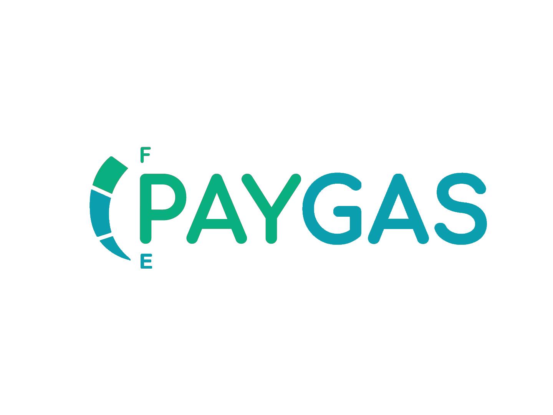 PayGas logodesign typography branding logo design
