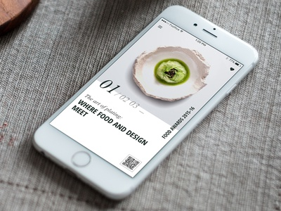 Food Article - Day53 My UI/UX Free SketchApp Challenge