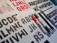 The impossible process of creating a typeface