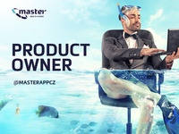 Recruitment Ad / Banner – Product Owner for IT Company