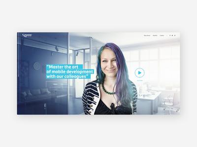 Recruitment Website MasterAPP